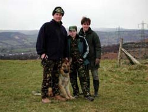 A1K9 Protection Dog With Family