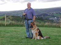 A1K9 Protection Dog With New Owner
