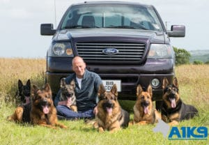 A1K9 Family Protection Dogs with Charles Wall