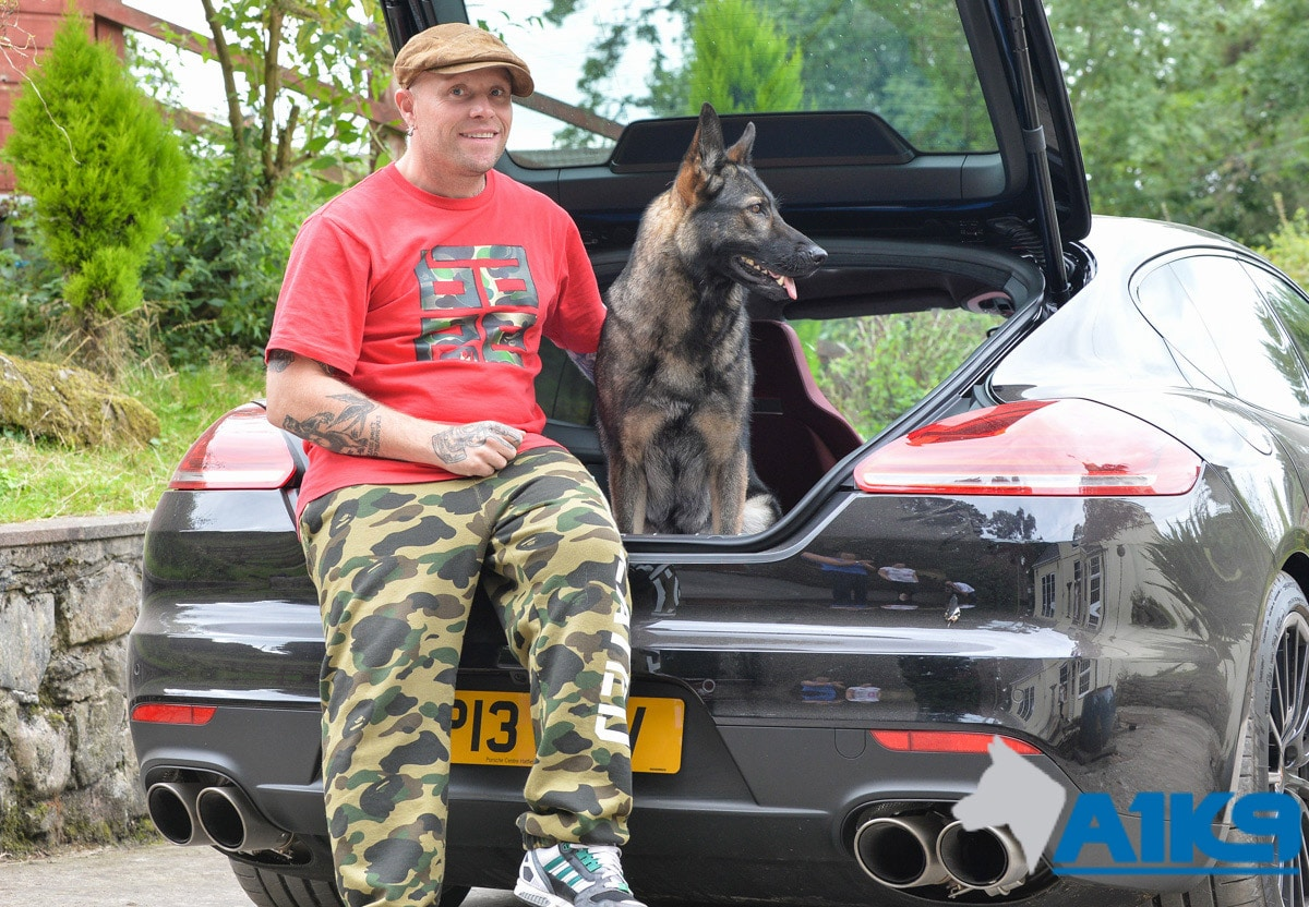 Keith Flint A1K9 Personal Protection Dogs Handover Day 2 img