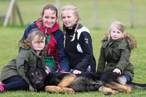 A1K9 Family Protection Dog With Family