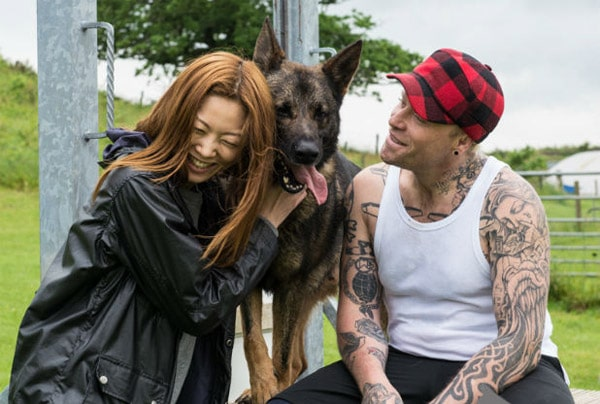Keith Flint Personal Protection Dog
